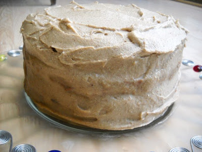 Carrot Pineapple Cake with Cashew Date Frosting