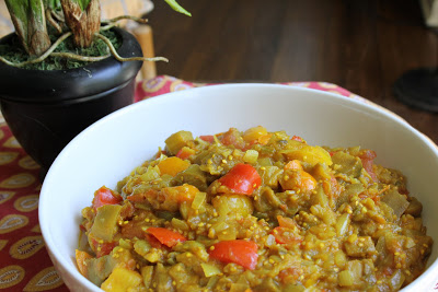 Vegan Indian Eggplant Curry