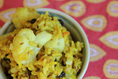 Vegan Indian Brown Basmati Rice Pilaf