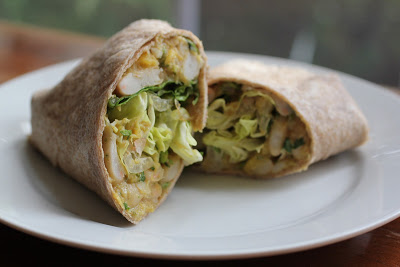OPR: White Bean and Mango Burritos