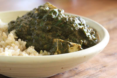"Crock Pot Saag (Spinach) ""Paneer"" and HGK's Top Ten List?"