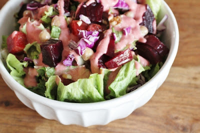 Cranberry Dressing-is it for salad or dessert? and an HGK Soup in the News