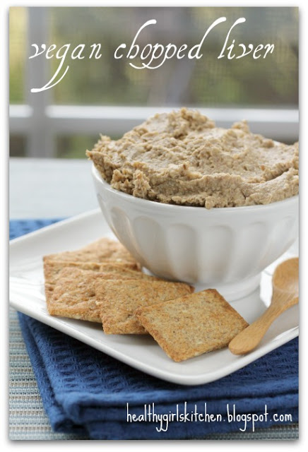 What Am I . . . Vegan Chopped Liver?
