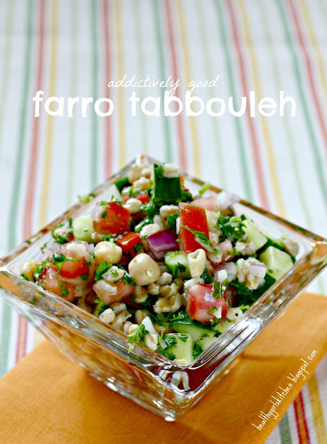 Addictively Good Farro Tabbouleh