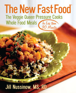 Winners of The New Fast Food e-book by Jill Nussinow and More Thoughts on Pressure Cooking