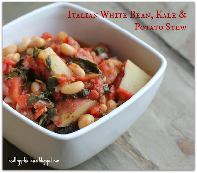 Utopea Giveway Winner Announced and New Recipe (Finally!) Italian White Bean, Kale and Potato Stew
