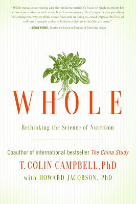 Review of Whole by T. Colin Campbell. Petition on Change.org. Win a copy of Whole.