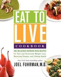 The Eat to Live Cookbook Project: Friday Recap and This Week's Cooking