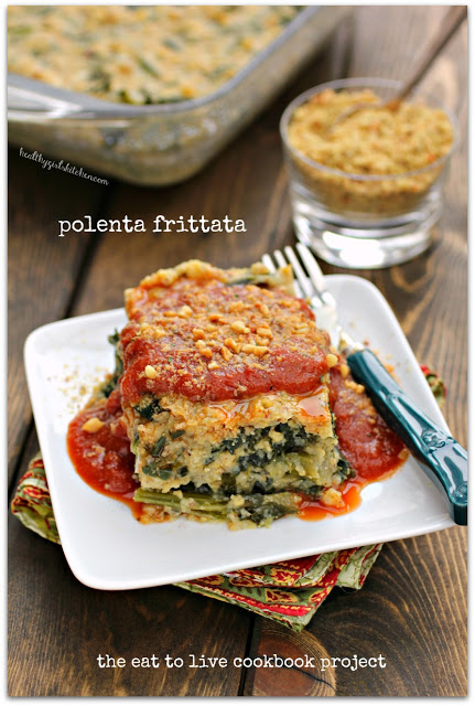 The Eat to Live Cookbook Project: Polenta Frittata