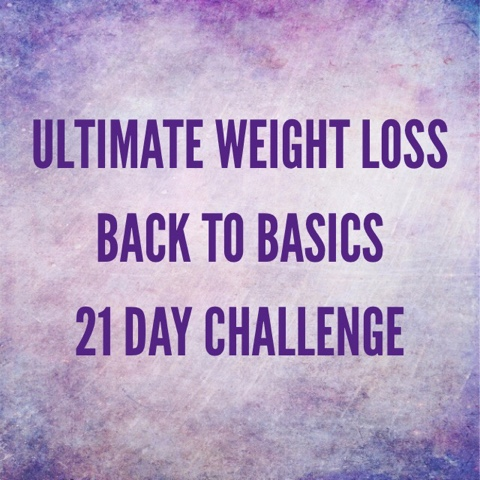 GIVEAWAY! The Back to Basics Ultimate Weight Loss Challenge Giveaway starts NOW
