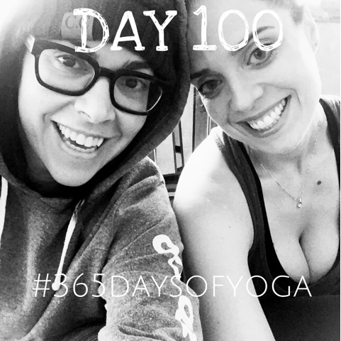 #365daysofyoga. Impressions FromThe First 100 Days.