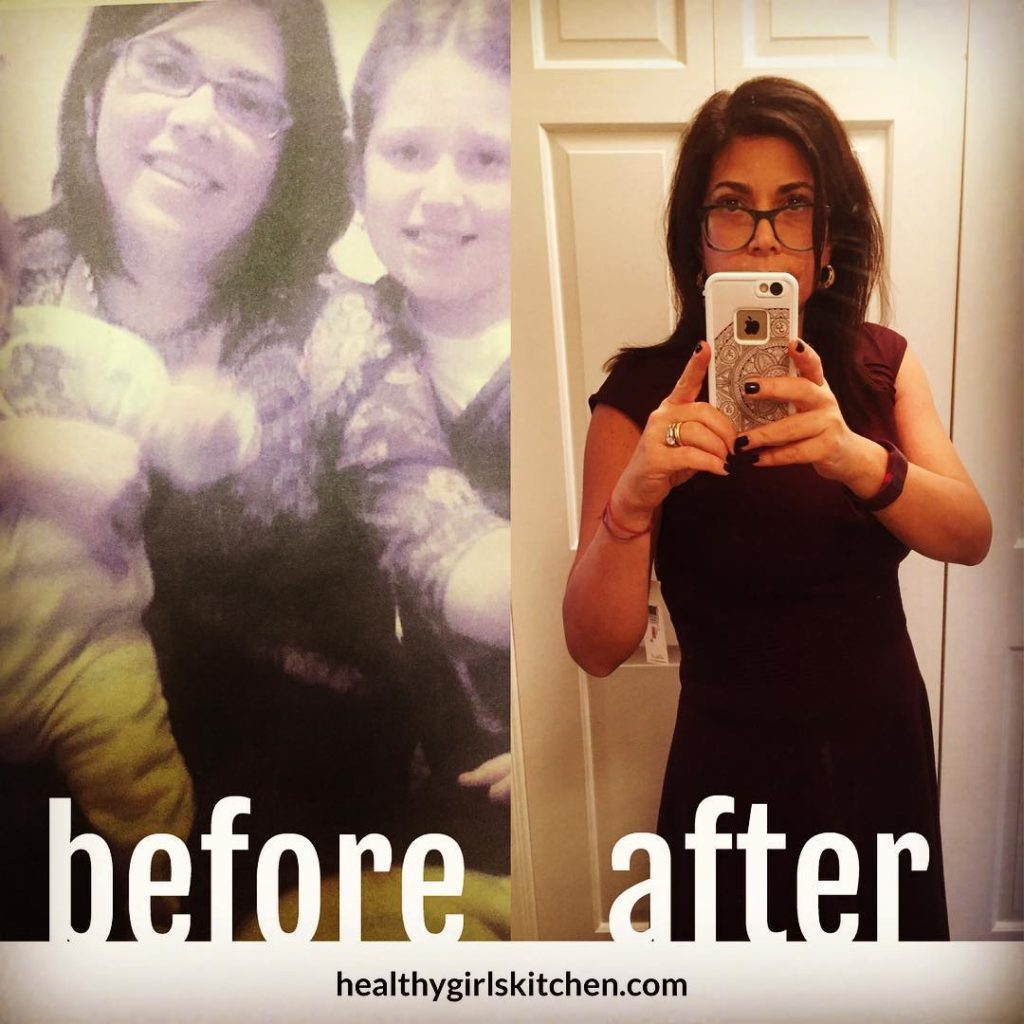 Healthy Girl's Kitchen Before and After Weight Loss Photos