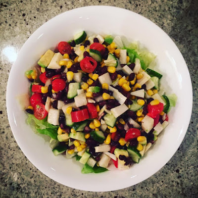 A Simple, Tasty BLE Dinner Idea: Mexican Salad