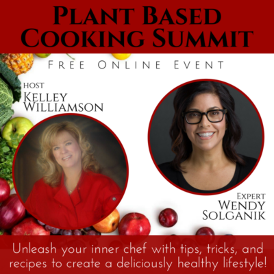 Please Join Me Online for The Plant Based Cooking Summit (It's Free!)
