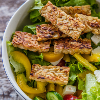 Plant Based Bright Line Eating-Tempeh